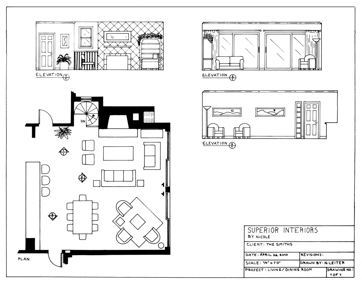 Living room top view drawing images for Living room floor plan